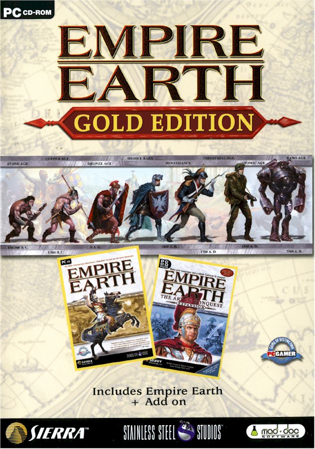 Empire Earth Full Esp + Exp Solo 710 mb + Extras modificado