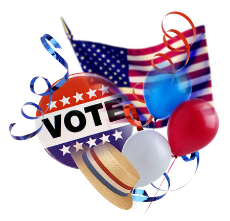 VOTE….It's Election Day!!