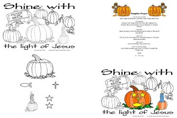 pumpkin patch parable coloring pages - photo #25